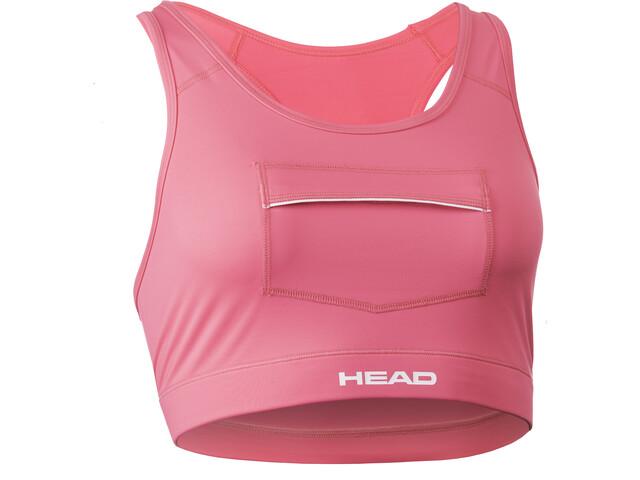 Head Swimrun Sujetador con Bolsillo Mujer, pink